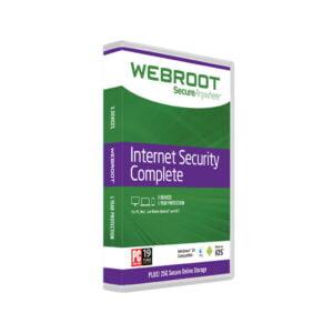 Webroot Internet Security Complete 2020